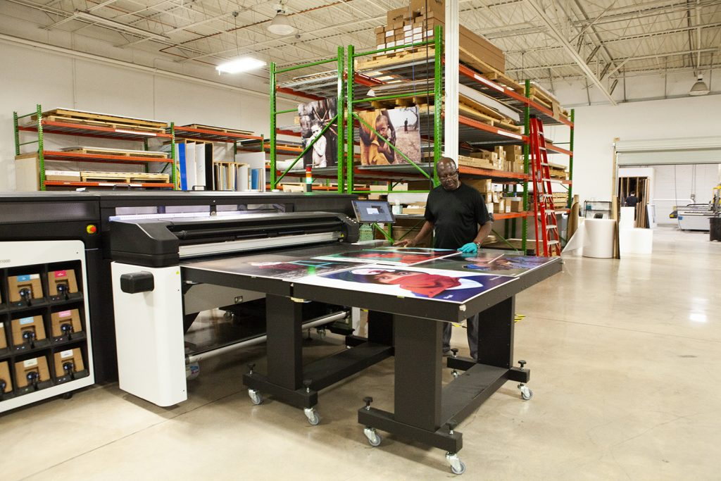 latex printing helps get work done quicker